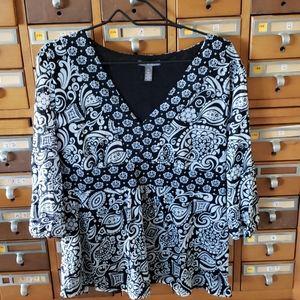 Apt 9 rayon blouse